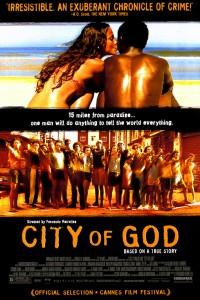 Brazilian movie - poster city od god